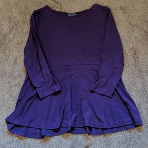 The Limited L purple top